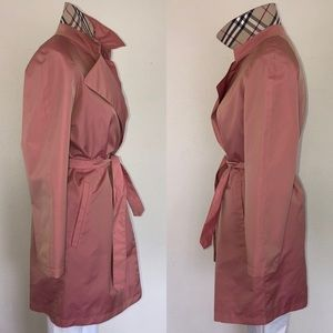 *RARE* Vintage Burberry Iridescent Belted Trench